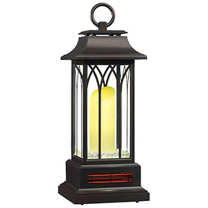 Duraflame Infrared Electric Lantern Heater in Bronze - 10ILH106-01