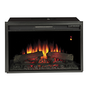 ClassicFlame 26-In SpectraFire Plus Electric Insert and Remote Control - 26EF031GRP