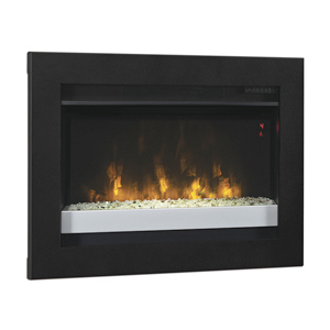 ClassicFlame 26-In Contemporary Insert & Flush Mount Conversion Kit - 26EF031GPG-201 & BBKIT-26