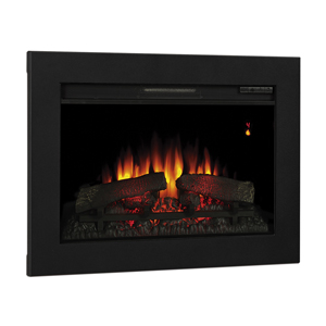 ClassicFlame 26-In SpectraFire Fireplace Insert & Flush Mount Conversion Kit - 26EF031GRP-BBKIT26
