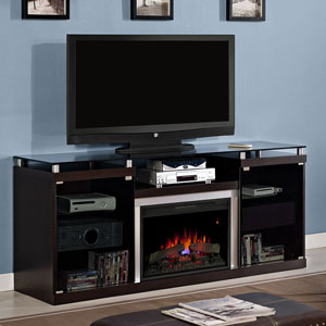Albright Electric Fireplace Entertainment Center in Espresso - 26MM9404-E451