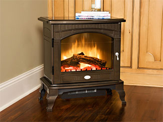 Our free standing electric stoves offer the instant ambiance of a traditional fireplace experience. Each of our freestanding electric stoves provide quiet