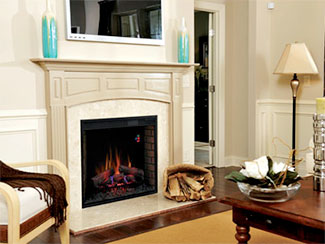 Plug-In Electric Fireplaces, Electric Fireboxes & Inserts