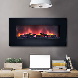 Wall Mount Electric Fireplaces | Linear, Hanging & Mounted Designs