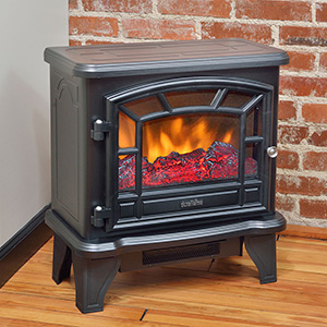 Duraflame 550 Black Electric Fireplace Stove - DFS-550-21