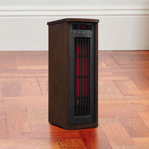 Duraflame Infrared 1,000 Sq. Ft. Tower Power Heater in Buxton Brown - 5HM7000-B335