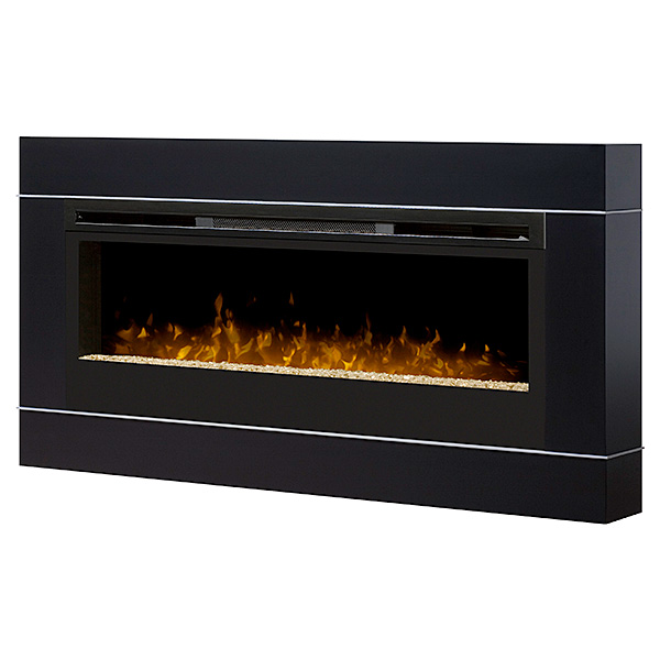 Dimplex 50-In Cohesion Black Wall Mount Electric Fireplace - BLF50-DT1267BLK