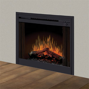 Dimplex 33-In LED In Wall Electric Fireplace - BFSL33