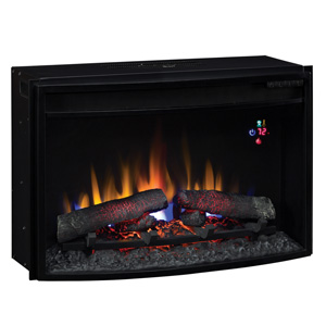 ClassicFlame 25-In SpectraFire Plus Curved Electric Fireplace Insert - 25EF031GRP