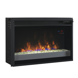 ClassicFlame 26-In SpectraFire Plus Contemporary Electric Fireplace Insert - 26EF031GPG-201