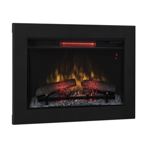 ClassicFlame 26-In Infrared Fireplace Insert & Flush Mount Conversion Kit - 26II310GRA & BBKIT-26