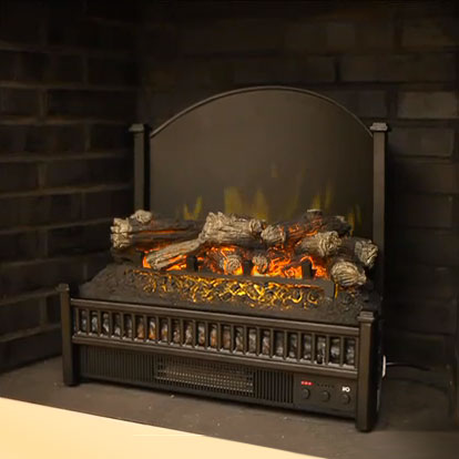 is fireplace delivered set and efca in electric products ships the accessories dimplex dlg log days premium insert media inserts ca