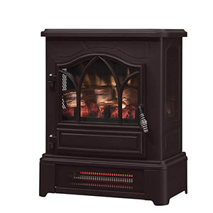 Duraflame Bronze 3D Infrared Electric Fireplace Stove - DFI-470-07