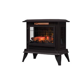 Duraflame Bronze 3D InfraGen Electric Fireplace Stove - DFI-5020-02