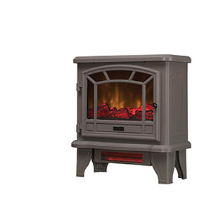 Duraflame Cool Grey Electric Fireplace Stove - DFI-550-40