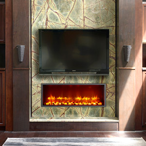 Dynasty 35-In Built-In Electric Fireplace - DY-BT35