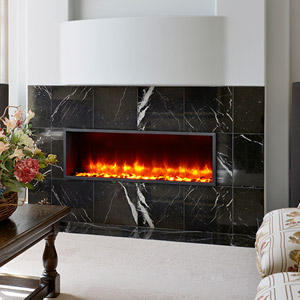 Dynasty 44-In Built-In Electric Fireplace - DY-BT44