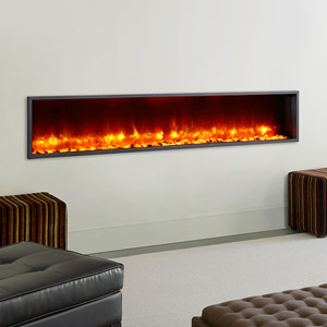 Dynasty 79-In Built-In Electric Fireplace - DY-BT79