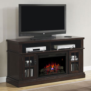 Dakota Electric Fireplace Entertainment Center in Caramel Oak - 26MM1066-O128