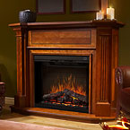 Dimplex Multi-Fire Electric Fireplace Mantel Packages