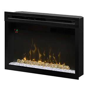 Dimplex 33-In Multi-Fire XD Plug-In Contemporary Electric Fireplace Insert - PF3033HG
