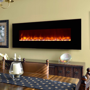 Dynasty 70-In Wall Mount Electric Fireplace - EF70-P