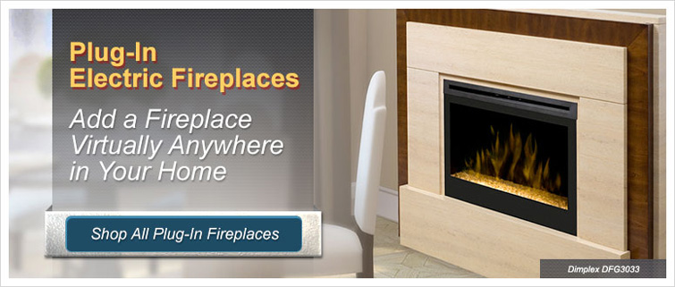 Plug-In Electric Fireplaces