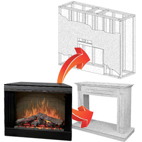 Electric fireplace inserts comparison - Choosing the right white electric fireplace for you ...