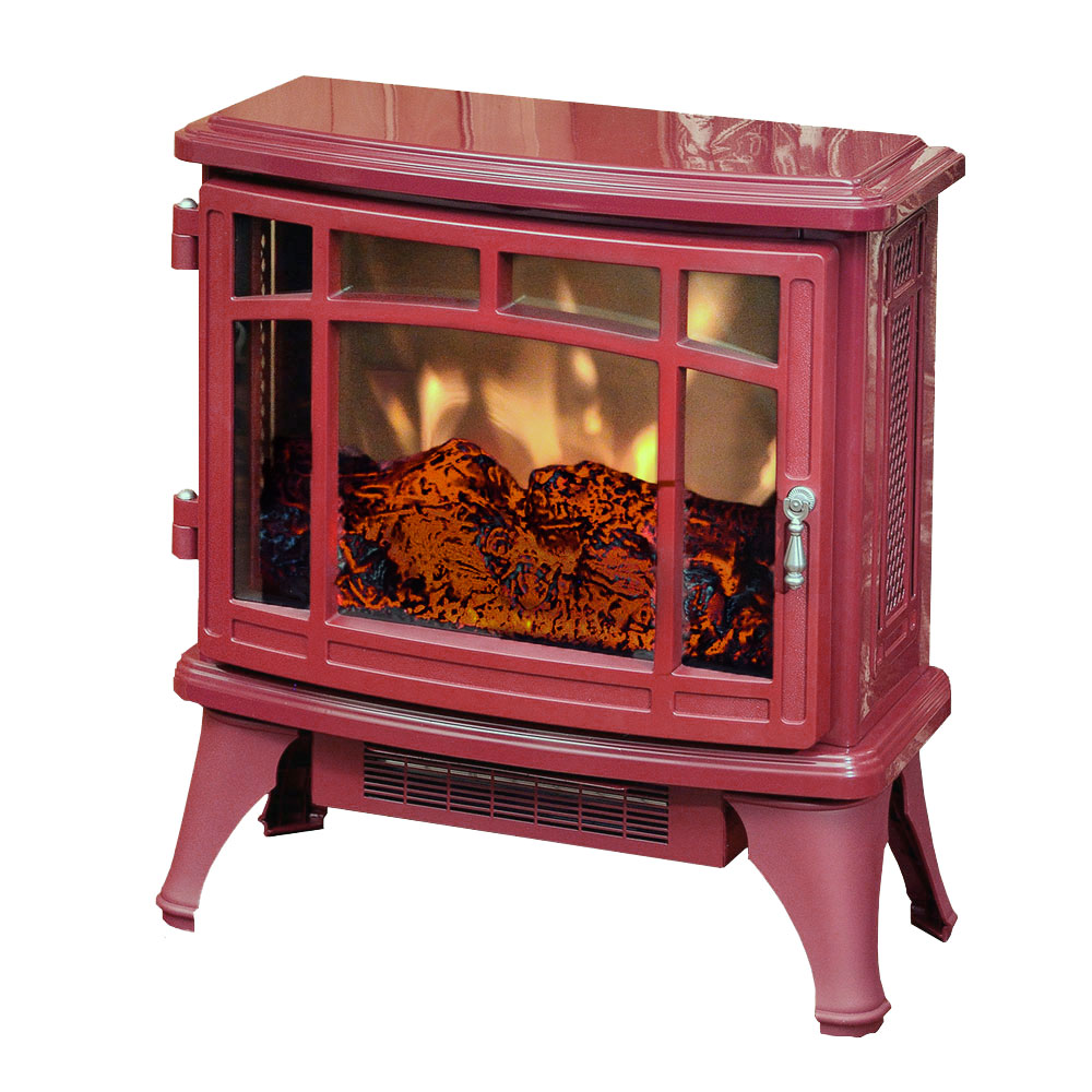 Duraflame 8511 Cranberry Infrared Electric Fireplace Stove With Remote Control Dfi 8511 03