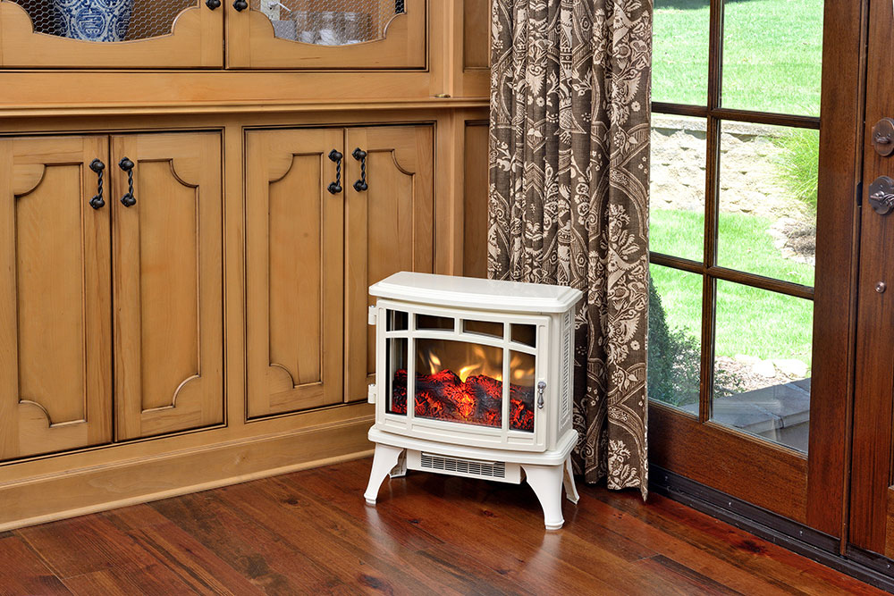 Duraflame 8511 Cream Infrared Electric Fireplace Stove