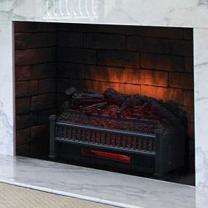 Comfort Smart 23-Inch Infrared Electric Fireplace Insert/Log Set - ELCG240-INF