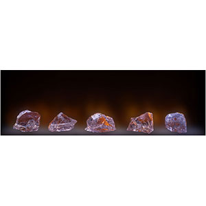 Modern Flames Big Glass Chunk Diamond Glass Kit for LFV-120/15 - BGC-120/15