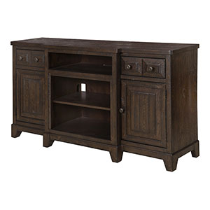 Heinrich TV Stand in Wentworth Brown - DM2526-1863WR