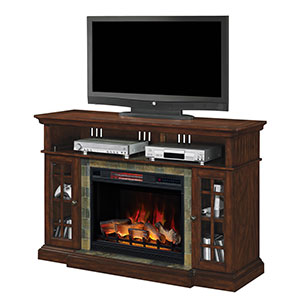 Lakeland Infrared Media Console in Roasted Cherry - 28MM6307-C270