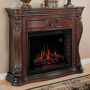 "Lexington 33"" Electric Fireplace Mantel in Empire Cherry - 33WM881-C232"