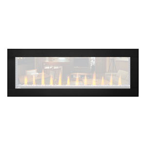 Black Trim for Napoleon 50-in CLEARion Electric Fireplace - NEFBD50H-DTRM