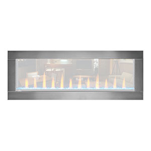 Stainless Steel Trim for Napoleon 50-In CLEARion Electric Fireplace - NEFBD50H-SS-DTRM