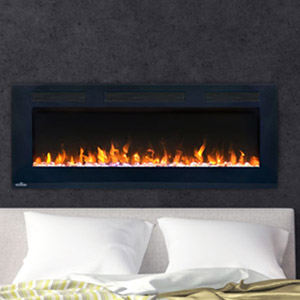 Napoleon 50-In Allure Wall Mount Electric Fireplace- NEFL50FH