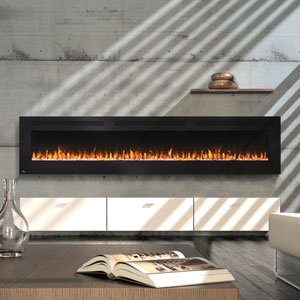 Napoleon 100-In Allure Wall Mount Electric Fireplace- NEFL100FH