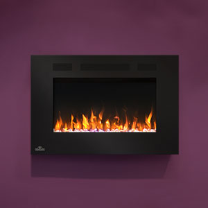 Napoleon 32-In Allure Wall Mount Electric Fireplace- NEFL32FH