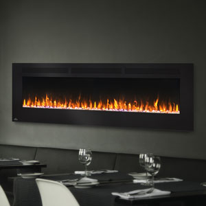 Napoleon 72-In Allure Wall Mount Electric Fireplace- NEFL72FH