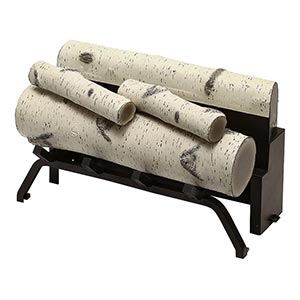 Dimplex Birch Log Set Accessory for Revillusion 24-in Firebox - RBFL24BR