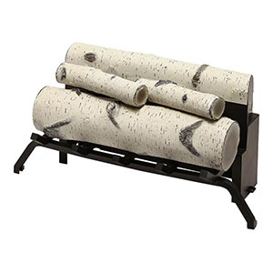 Dimplex Birch Log Set Accessory for Revillusion 30-in Firebox - RBFL30BR