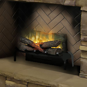 Dimplex 20-In Revillusion Electric Fireplace Insert/Log Set - RLG20