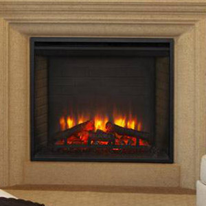 Hearth & Home 30-In SimpliFire Built-In Electric Fireplace - SF-BI30-EB