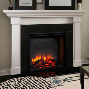 Hearth & Home 36-In SimpliFire Built-In Electric Fireplace - SF-BI36-EB