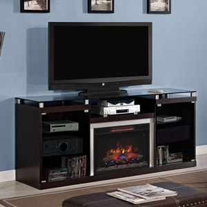 Albright Infrared Electric Fireplace Media Console in Espresso - 26MM9404-E451