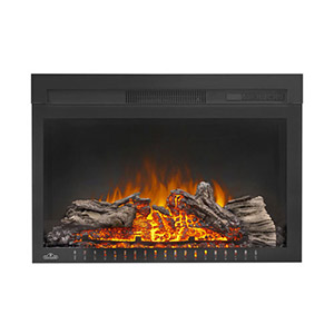 Napoleon Cinema 27-In Plug-In Electric Fireplace - NEFB27H