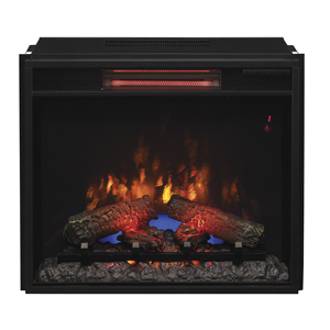 ClassicFlame 23-in Spectrafire Plus Infrared Electric Fireplace Insert - 23II310GRA