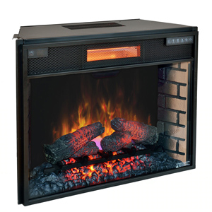 ClassicFlame 28-In SpectraFire Plus Infrared Electric Fireplace Insert - 28II300GRA